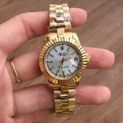 Đồng hồ nữ Rolex Lady-Datejust yellow gold 279178-0001